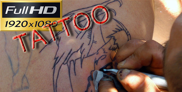 VideoHive Tattoo Full HD 2917315