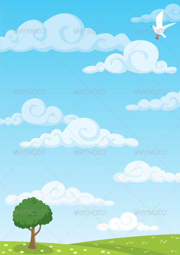 Meadow Background Graphicriver