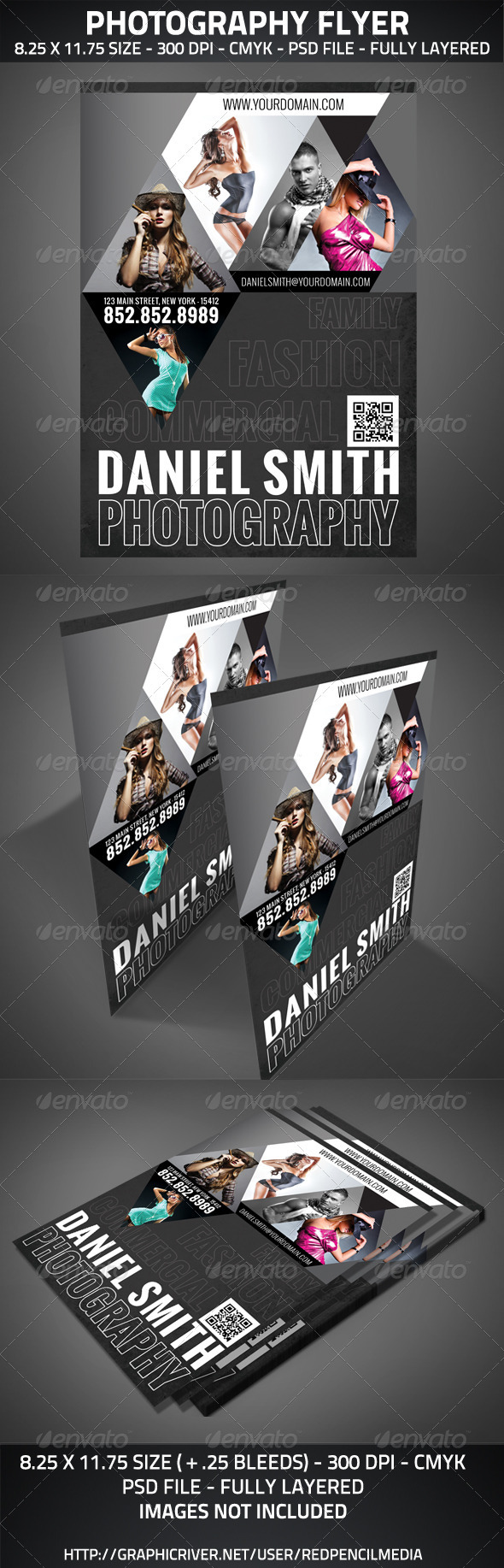 GraphicRiver Photography Flyer A4 2917623