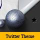 Twitter Techno Theme