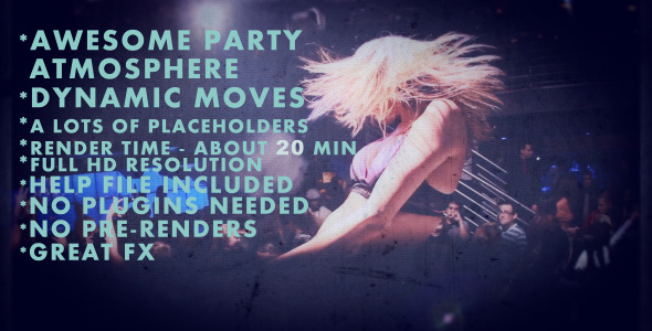 After Effects Project - VideoHive Project Party Animals 2918377