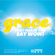 The Power of Grace Church Flyer and CD Template   - GraphicRiver Item for Sale