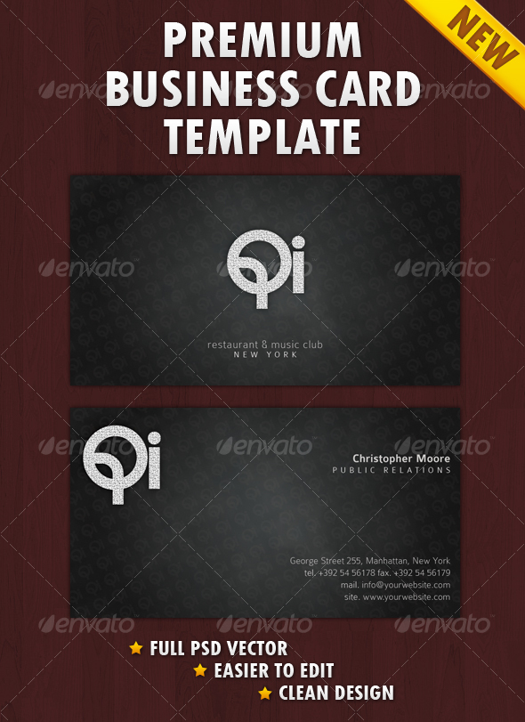 GraphicRiver Clean Business Card 103519
