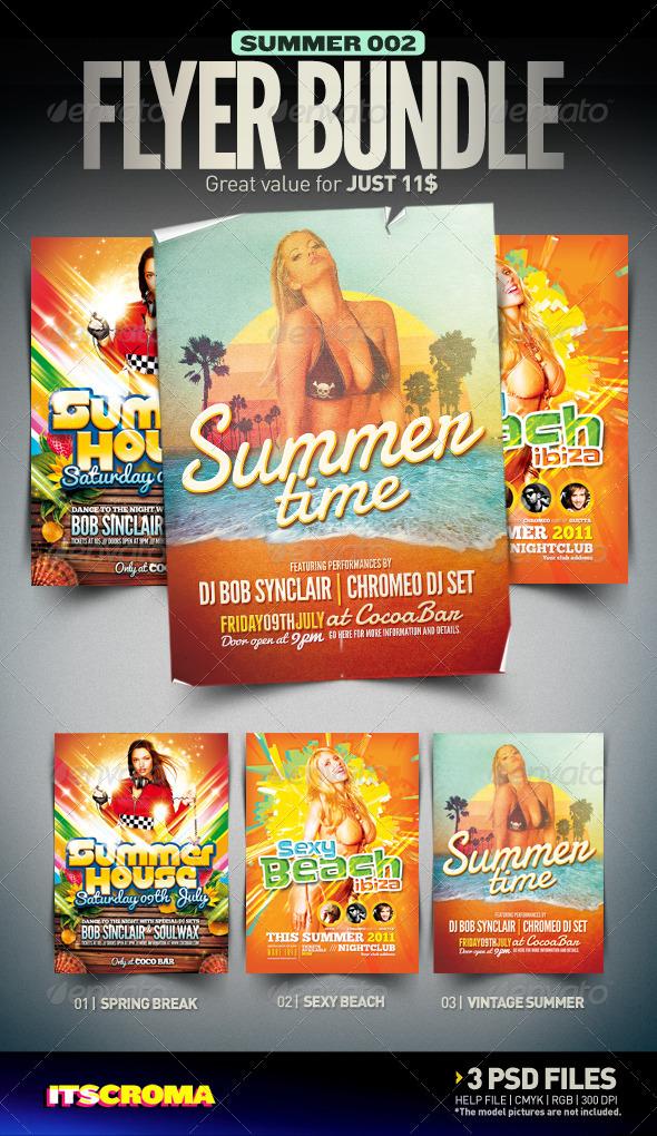 Summer Flyer Bundle | 002