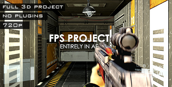 After Effects Project - VideoHive FPS Project 2905543