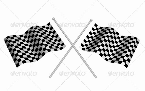 GraphicRiver Checkered flags 305795