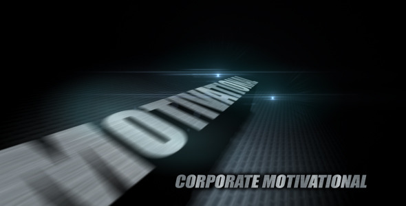 VideoHive 3D Logo Dramatic 2919775