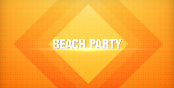 VideoHive Beach Party Promo 2920115
