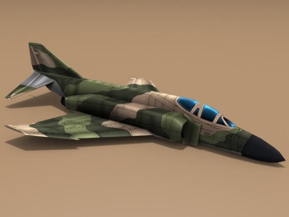 3DOcean McDonnell Douglas F-4 Phantom II 2920565