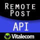 Remote POST API