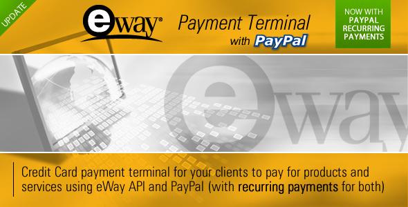 CodeCanyon eWay Payment Terminal 2586649