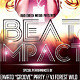 Beat Impact Flyer - GraphicRiver Item for Sale