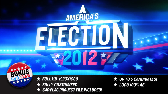 After Effects Project - VideoHive Election Year 2906072