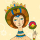 Princess Girl Flower - GraphicRiver Item for Sale
