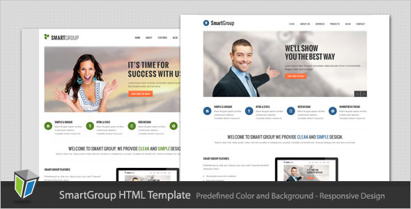 SmartGroup - Responsive Business HTML Template