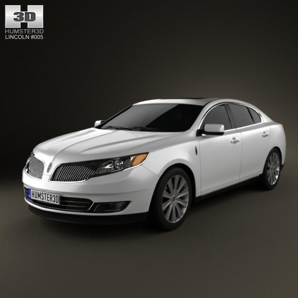 3DOcean Lincoln MKS 2013 2923173