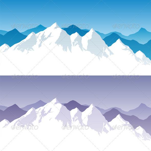 GraphicRiver Mountain Range 302394