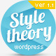 Style Theory -  Wordpress canvas based theme.