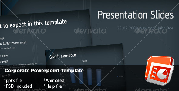 GraphicRiver Corporate Powerpoint Template 72667