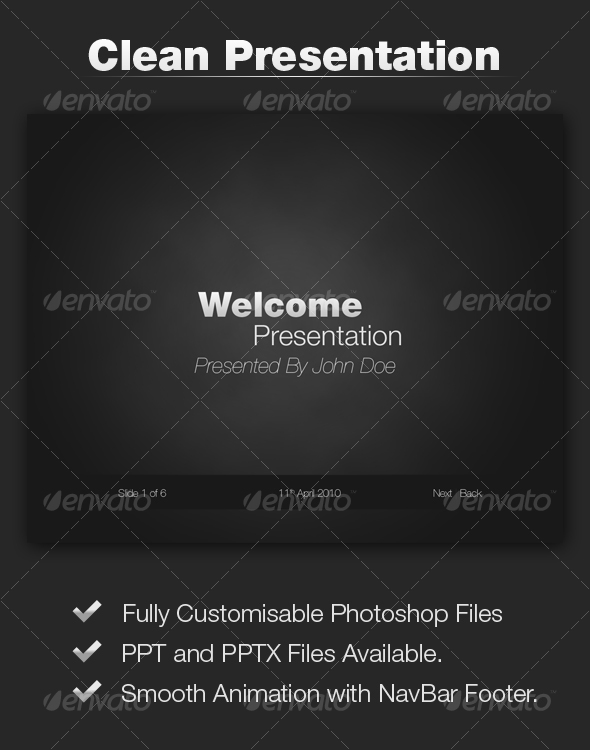 Black, Strong Presentation - Powerpoint Templates Presentation Templates