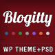Blogitty - Premium Magazine/Blog/Business Theme - ThemeForest Item for Sale