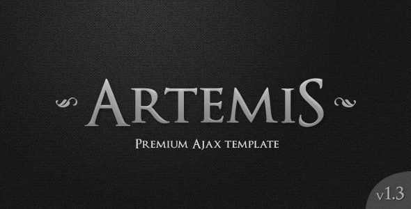 Artemis - Responsive AJAX Portfolio/Blog Template