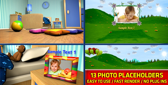 VideoHive Baby Photo Album 2906759