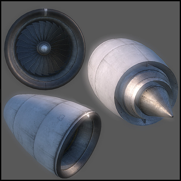 3DOcean Aircraft Turbine 2925750