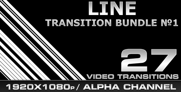 [VideoHive 306241] Line Transition Bundle 1 | Motion Graphics