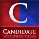 Candidate – Political WordPress Theme  Free Download