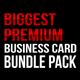 Biggest Premium Business Card Bundle [12 cards]  - GraphicRiver Item for Sale