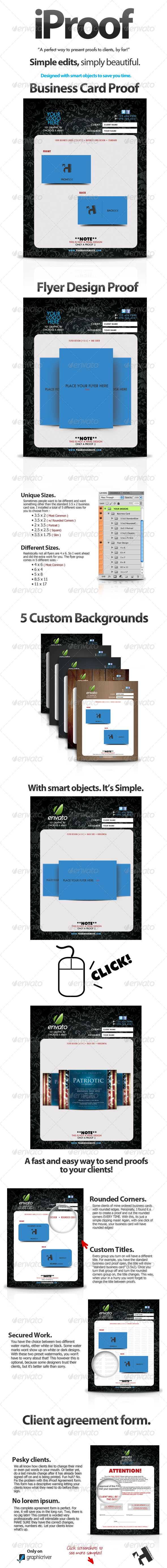 GraphicRiver iProof Client Proof Kit Great for Freelance 306333