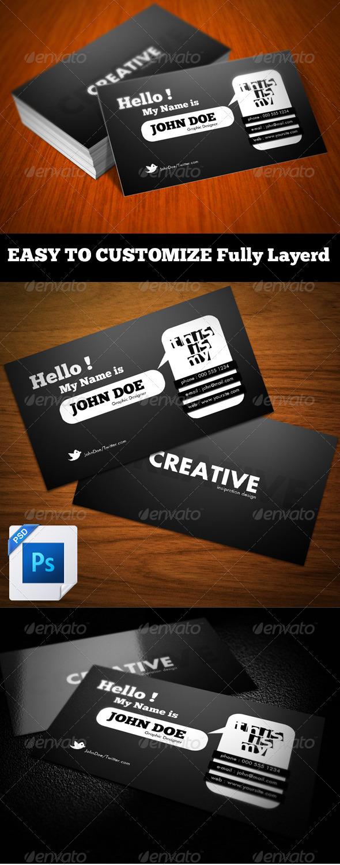 GraphicRiver Hello Business Card 306334