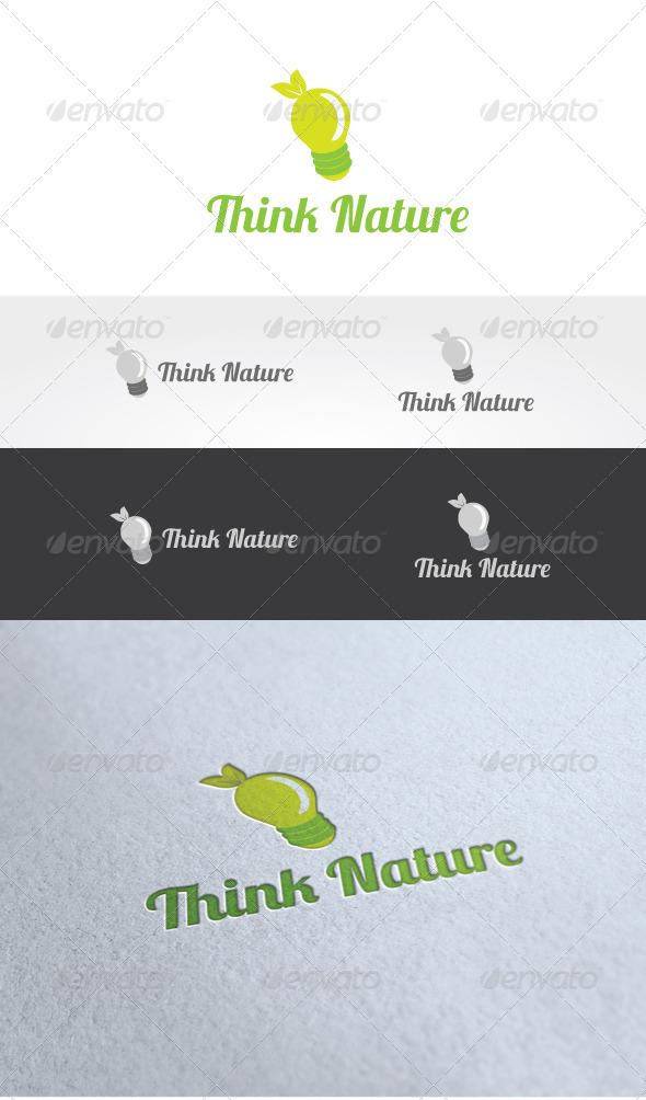 Think Nature Logo Template - Nature Logo Templates