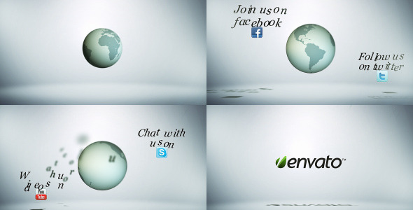VideoHive Earth Social Media Package 2927482