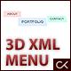 3D XML MENU - ActiveDen Item for Sale