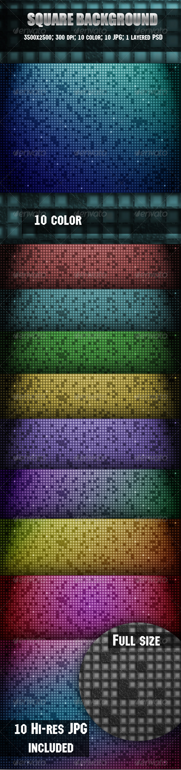 Square Background - Backgrounds Graphics