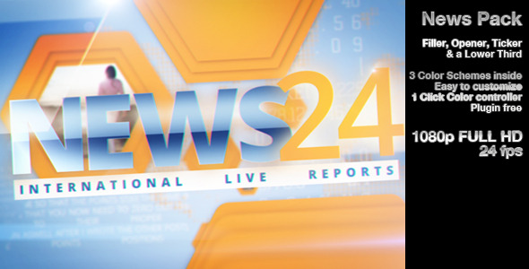 After Effects Project - VideoHive News 2916145