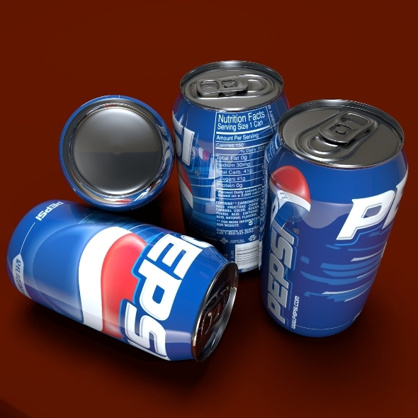 Pepsi Can - 3DOcean Item for Sale