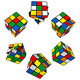 Set of Puzzle Cubes - GraphicRiver Item for Sale