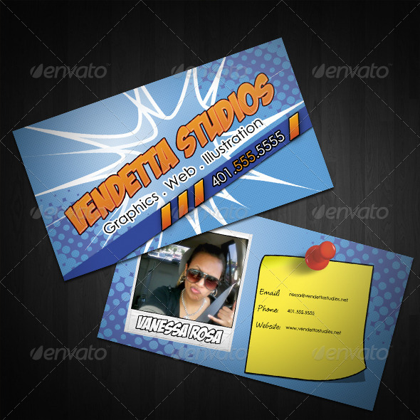 GraphicRiver Kablam Business Cards 306638