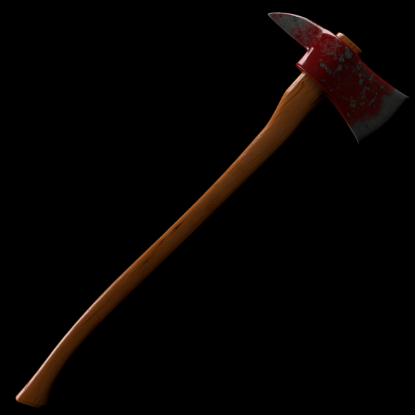 Fire Axe - 3DOcean Item for Sale
