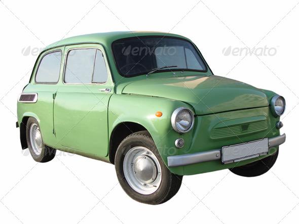 Retro car - Stock Photo - Images