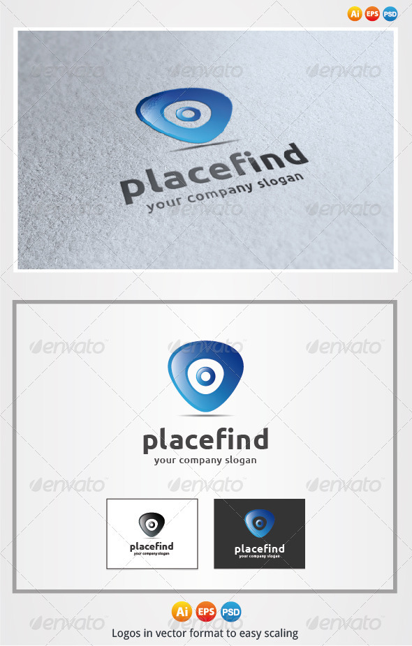 Place Find - Symbols Logo Templates