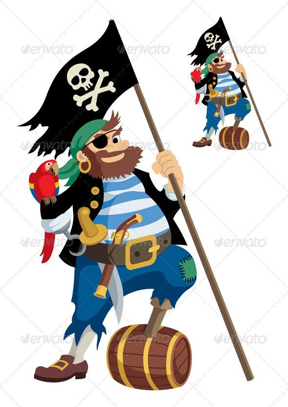 GraphicRiver Pirate 82384