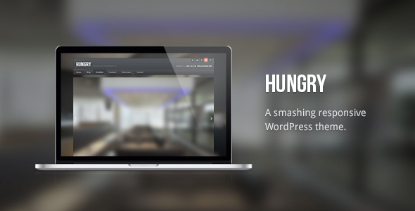 Hungry: Responsive / Handsome WordPress Theme