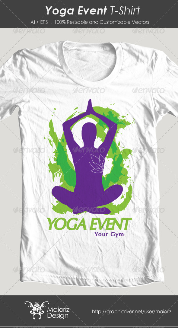 Yoga Event Tshirt
