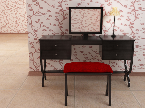 3DOcean Dressing table 104946