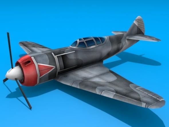 3DOcean Lavochkin LA-5 2934325