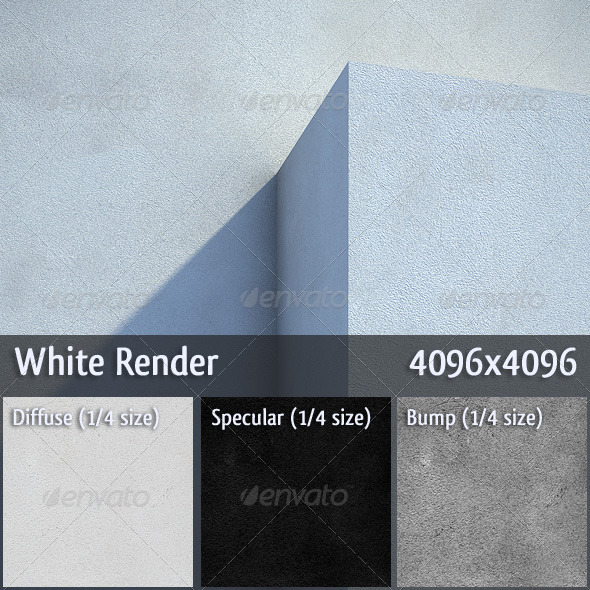White Render - 3DOcean Item for Sale